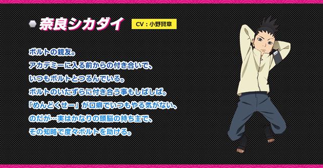 informações de Shikadai, badwolf